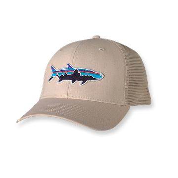 Gear review patagonia trucker hat tasty for Patagonia fish hat