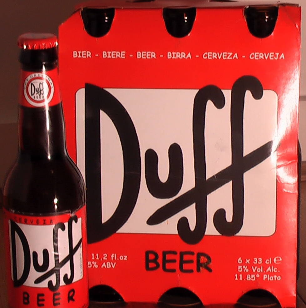 "Yes It Does Exist!"" Duff Beer 