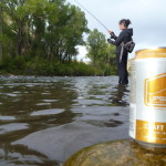 Uplsope Lager on the river