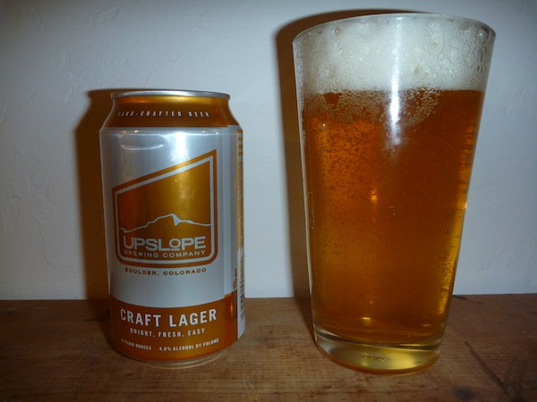 Upslope Brewing Company Craft Lager