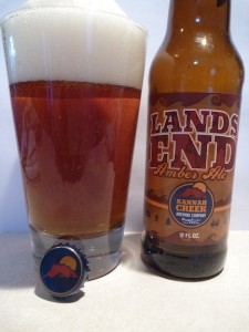 Lands End Amber Ale Pour