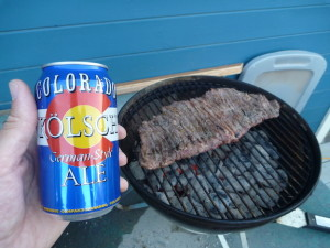 Kolsch and Steak