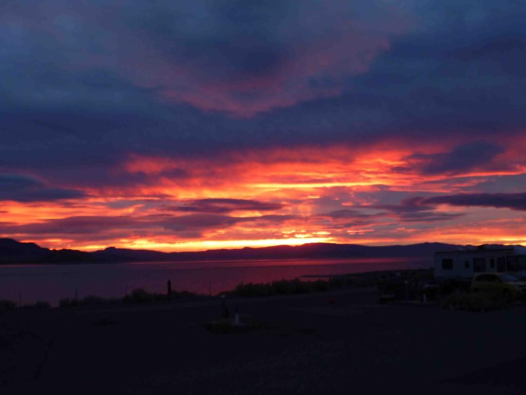 Epic sunrises around here.
