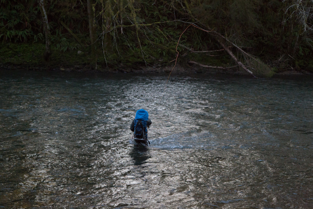 Spey casting on the Olympic Peninsula